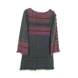 Nanette Lepore knit long sleeve dress small